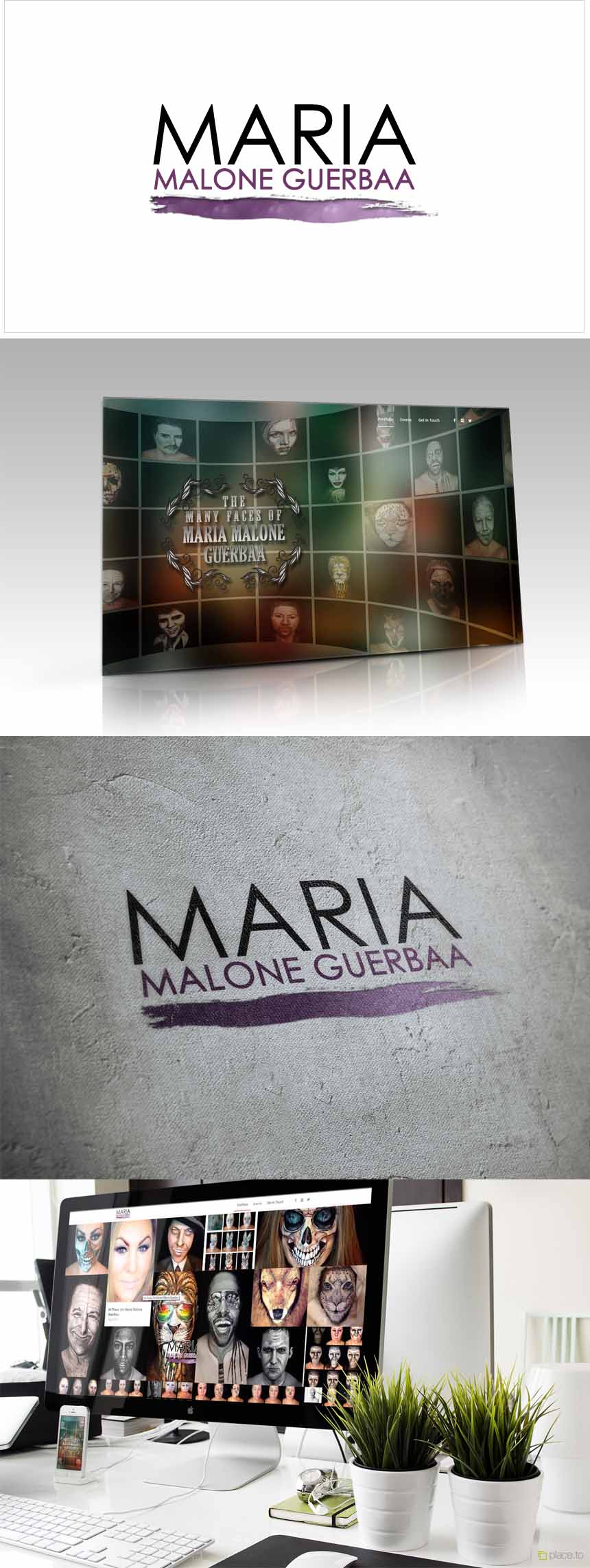 Maria Malone Guerbaa Web development project